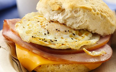 Ham Breakfast Sandwich