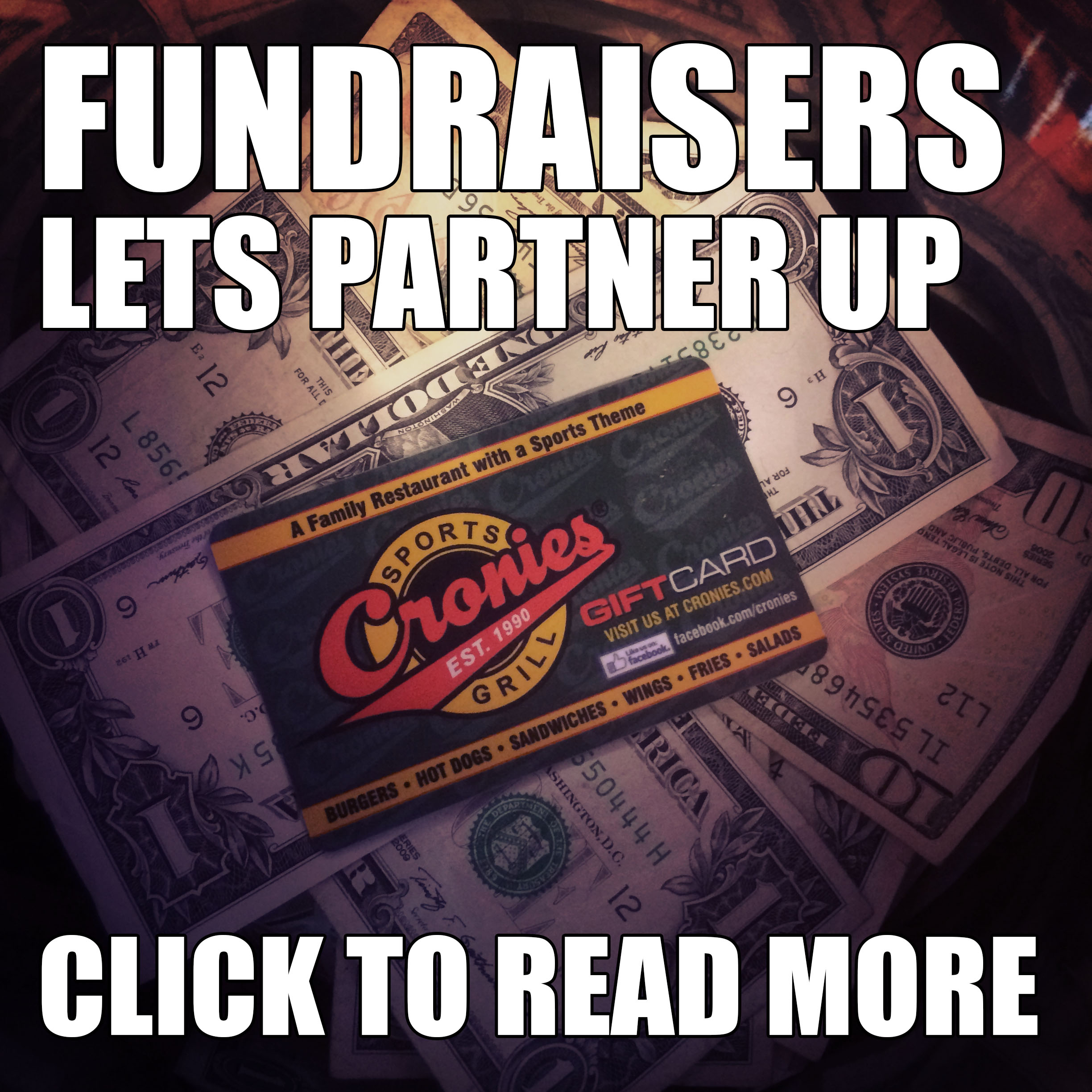 Fundraisers Lets Partner Up, Click to Read More
